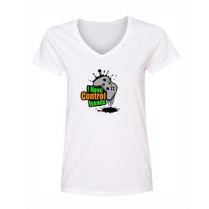 Women's Control Issues Color Short Sleeve T-Shirt
